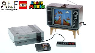 LEGO Super Mario 71374 Nintendo Entertainment System - Lego Speed Build Review