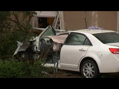 Xxx Mp4 Mom Killed 4 Year Old Son Sleeping Beside Her Injured After Car Slams Into S LA Building ABC7 3gp Sex