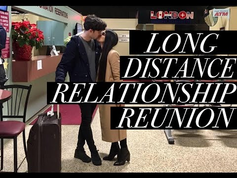LONG DISTANCE RELATIONSHIP AIRPORT REUNION - A CZECH & A CANADIAN