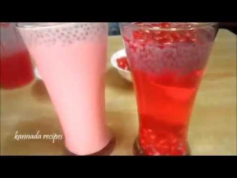 rose juice | cool summer drink recipe in kannada