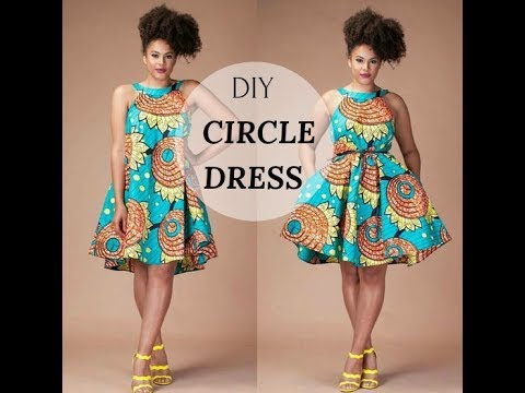 ✂️👗DIY:CIRCLE DRESS | UMBRELLA DRESS| IPHIE ANI