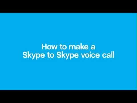How to make a Skype to Skype voice call - Mac