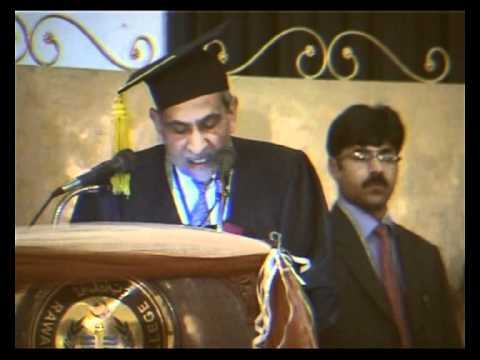 My college convocation Dr. Umair Saeed