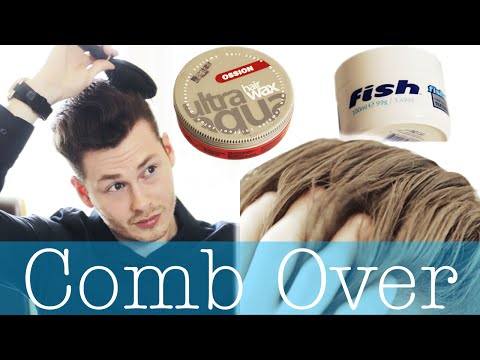 How to style a comb over | Men's hairstyling tutorial