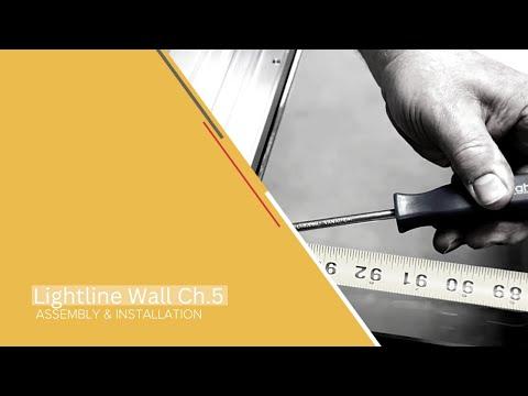 KI Lightline Wall Installation - Chapter 5: Install Glass Pivot Door