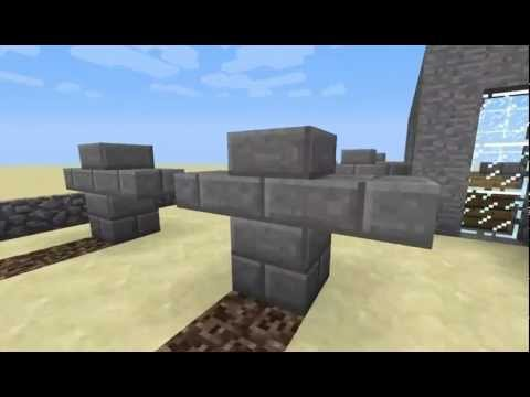 Minecraft: How to make a grave and tombstone