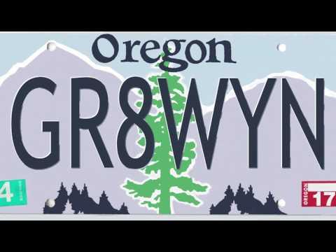 Oregon DMV-rejected attempts at vanity license plates