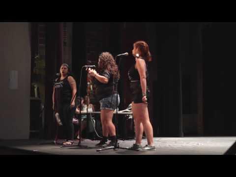 ABQ Slam Team performing