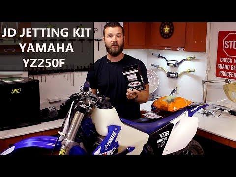 How to jet 4 stroke dirt bike carburetor using JD Jetting Kit - Yamaha YZ250F update