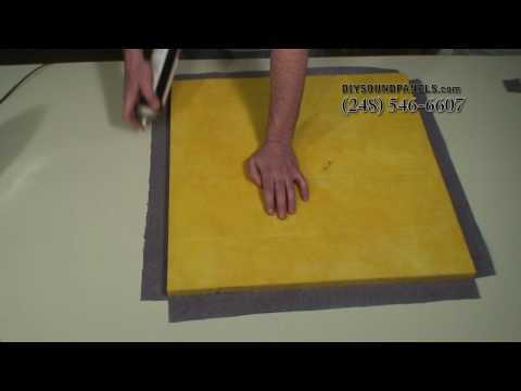 How to Laminate an Acoustic Sound Panel