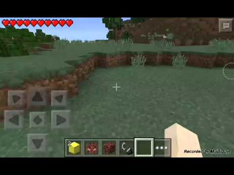 Herobrine In Minecraft PE v0.11.1 | His Great Power