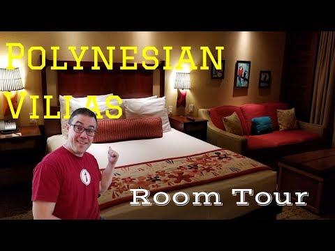 Polynesian Villa Studio Room Tour