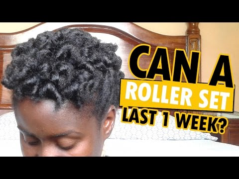 HOW LONG does a Roller Set last on Natural Hair???