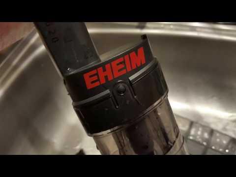 EHEIM QUICK VAC PRO  AQUARIUM GRAVEL VACUUM REVIEW for your fish tank cleaning
