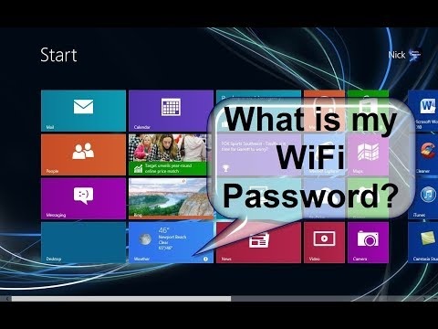 what is my wifi password how to check  from pc & laptop