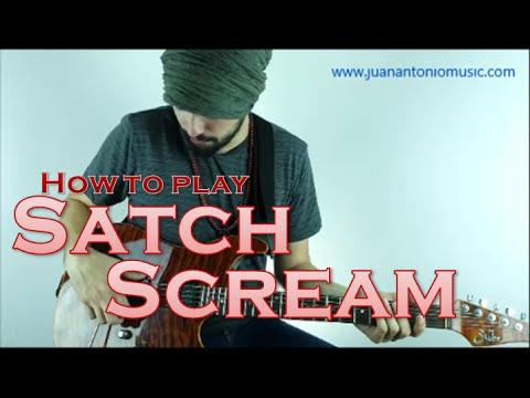 How to do the Satch Scream (Joe Satriani Dive Bomb)