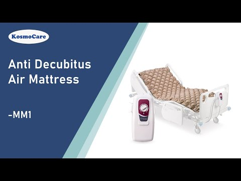 KosmoCare Anti Decubitus Air Mattress MM1 for Prevention of Bed/Pressure Sores.