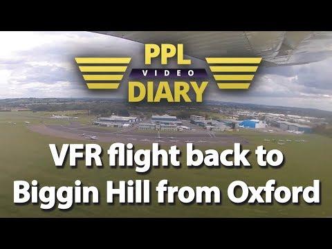 VFR flight back to Biggin Hill from Oxford