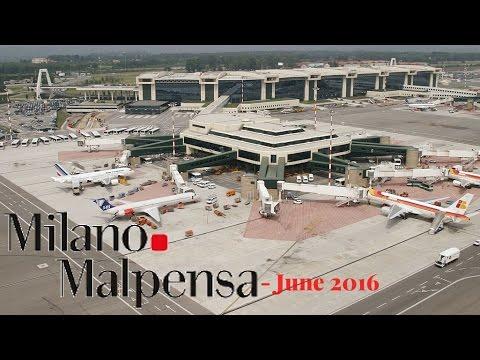 Milan Malpensa Airport Gopro HD   Milan   Italy   12th June 2016  