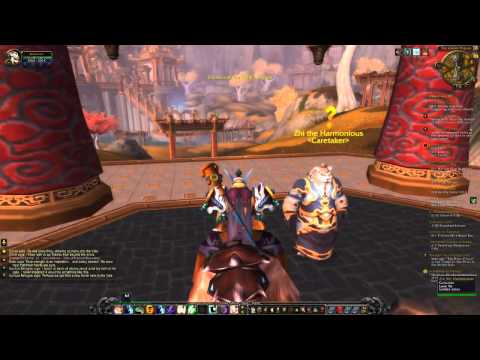 World of Warcraft   Mists of Pandaria   How to Get to Vale of Eternal Blossoms and Get Flying   YouT