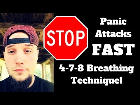 How to Stop Panic Attacks Fast Using the 4 7 8 Breathing Technique