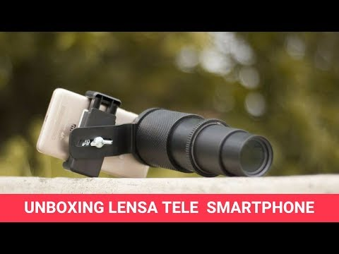 Unboxing Lensa Tele Smartphone - Lensa Tele Multi Zoom