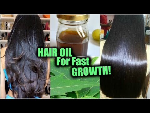 Homemade Hair Oil for FAST Hair Growth, Hair Loss │Neem Herbal Oil for Thick, Shiny, Smooth Hair