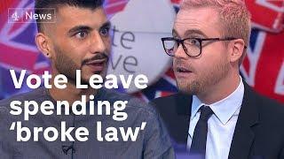 Vote Leave 'broke electoral law' - whistleblowers respond