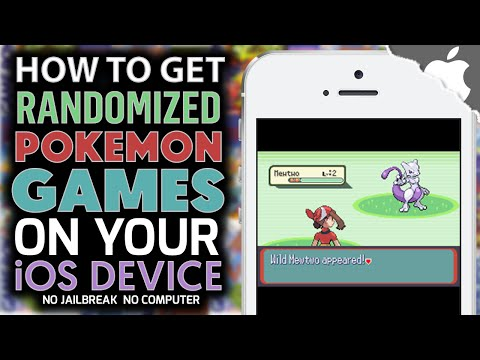 How to Get Randomized Pokemon Games on your iOS Device! (NO COMPUTER) (NO JAILBREAK) GBA, GBC, GB
