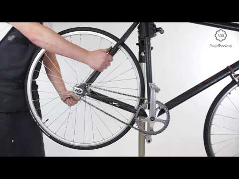 Replace A Fixed Sprocket On A Bike Wheel