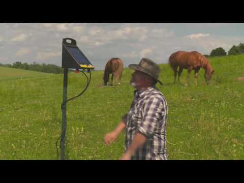 How to Install a Solar Fence Charger: Electric Fence 101 | Zareba®