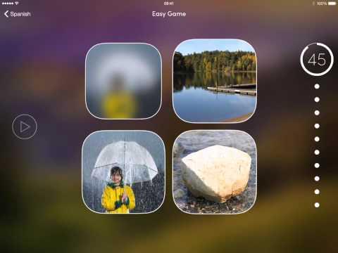 uTalk App Preview - iPad