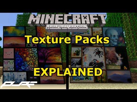 Minecraft Xbox 360: Texture Packs Explained! | TU12 Update Info