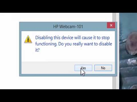 HOW TO: ENABLE \ DISABLE WEBCAM ON windows 8, 8.1 & 10