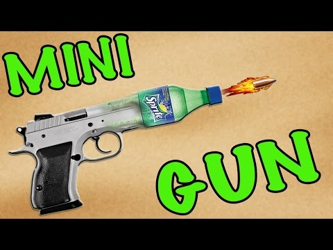 How to make a mini gun with your own hands