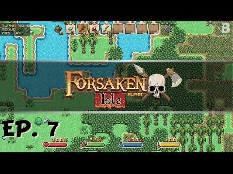 Terraforming! - Ep. 7 - Forsaken Isle - 16 Bit Wilderness Survival