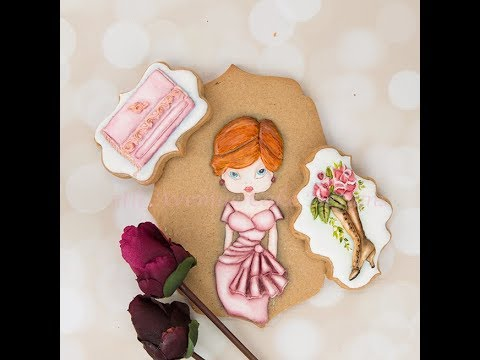 How to Decorate Dimensional Haute Couture Cookies 👗👝👠