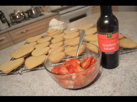 How to Macerate Strawberries with Napa Valley Strawberry Balsamic Vinegar: CWK
