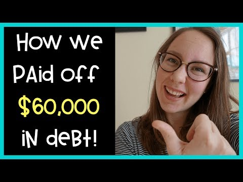 How We Paid Off $60,000 in Student Debt in 1 YEAR | Financial Tips