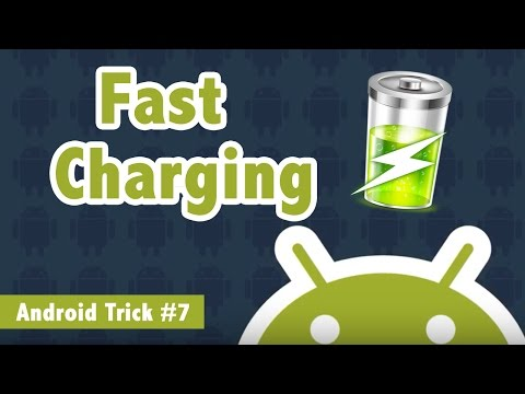 How To Charge Android Phone Faster - Android Trick #7