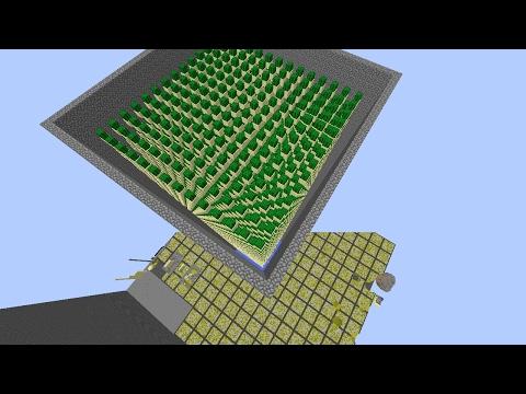Minecraft Factions: Fastest OP Cactus Farm (Tutorial) (Schematic download)