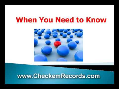 Marriage Records Search and Divorce Records; even death records