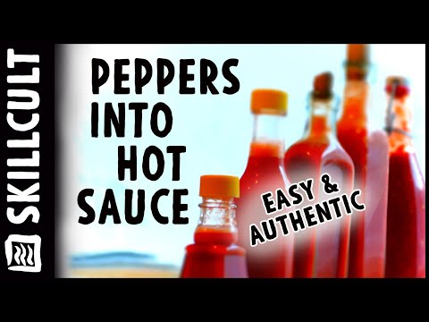 How to Make Authentic Fermented Hot Sauce, The Real Deal!