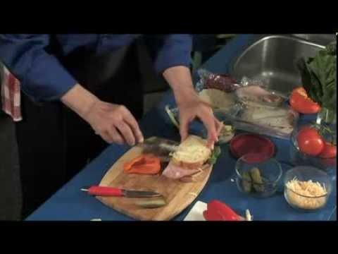 Dagwood (Bumstead) Sandwich -  deliciously homemade, healthy, fun, party sandwich