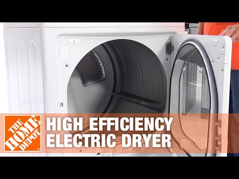 LG Electronics 7.1 Cu. Ft. Extra Large Capacity High Efficiency Electric Dryer - The Home Depot