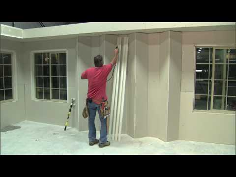 _How to install off-angle standups using Hydrotrim drywall corners