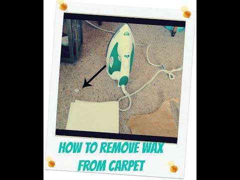 How to Remove Candle Wax from Carpet - Quickly Cheaply