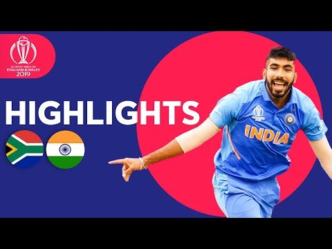Xxx Mp4 Rohit Hundred Seals Win South Africa Vs India ICC Cricket World Cup 2019 Match Highlights 3gp Sex