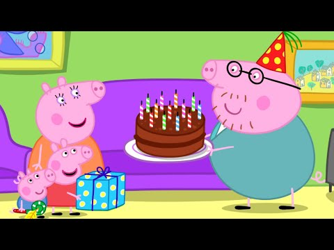 Peppa Pig English Episodes - Birthday compilation - #006