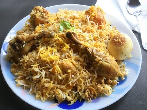 Chicken Biryani in Pressure Cooker | Kolkata Style Chicken Dum Biryani in Cooker - In Bengali